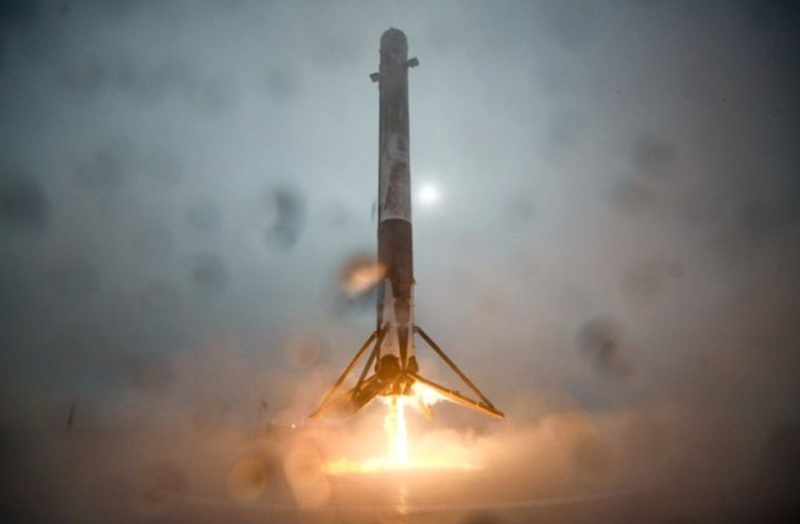 Spacex rocket ship